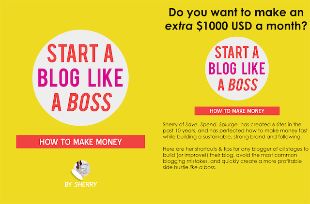 Start a blog like a boss